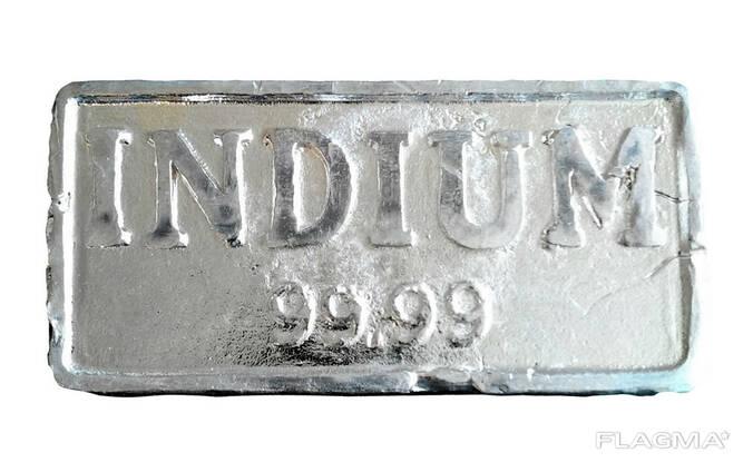 インジウム地金|金属インジウムブランドInOO GOST 10297-94