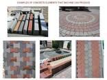 Блок линия для производства тротуарной плитки U-1500 Швеция - фото 8